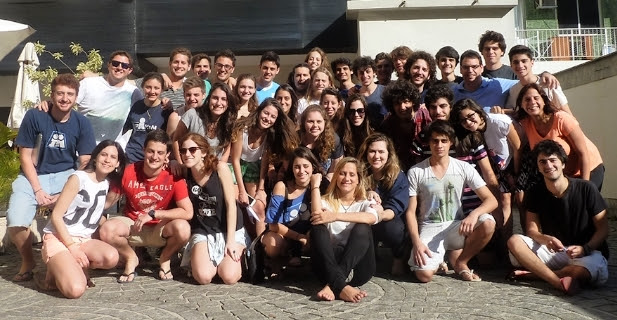 """Seminário """"Sameach"""" reúne jovens da Chazit na ARI"""